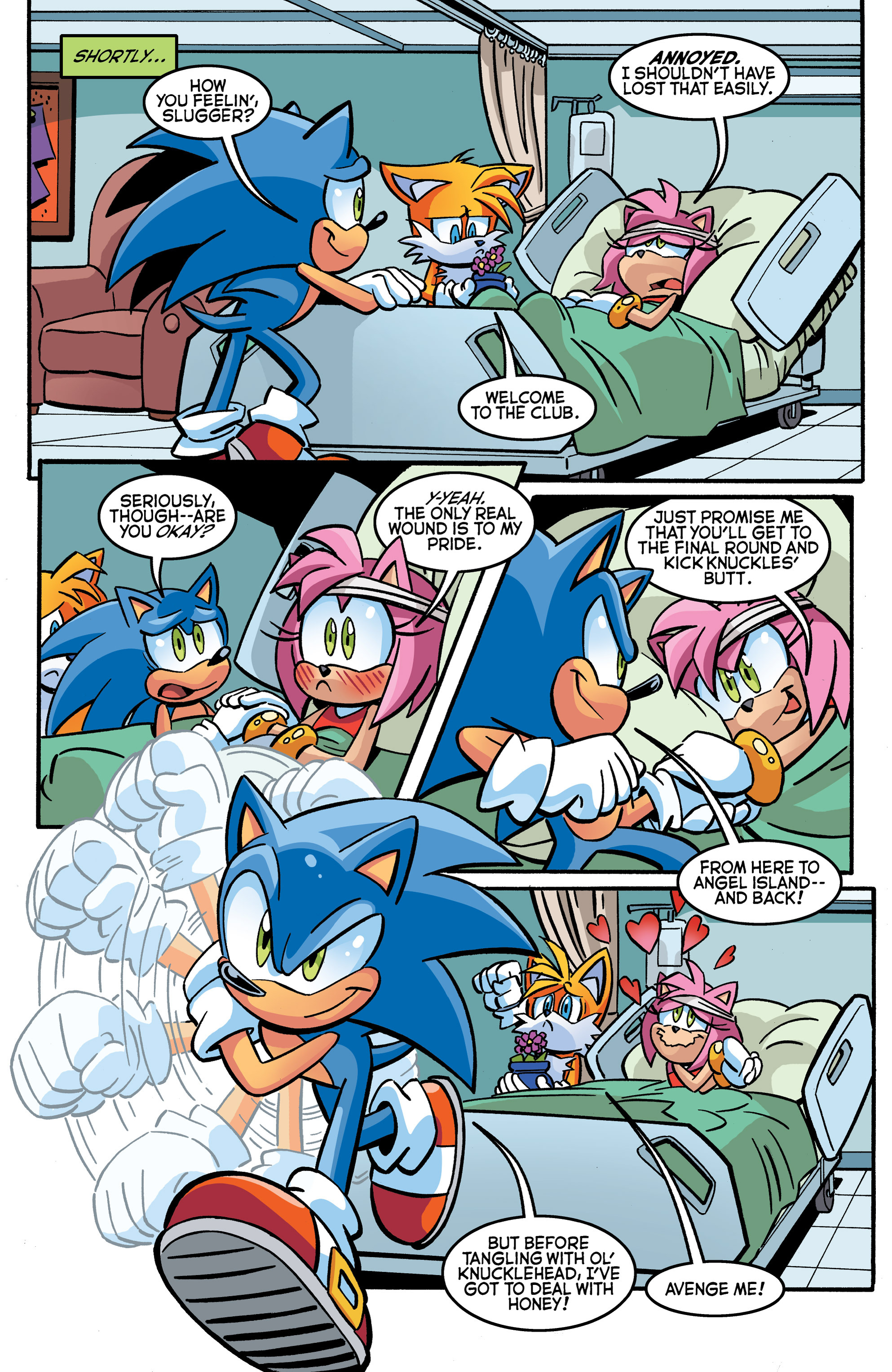 Read online Sonic The Hedgehog comic -  Issue #270 - 12