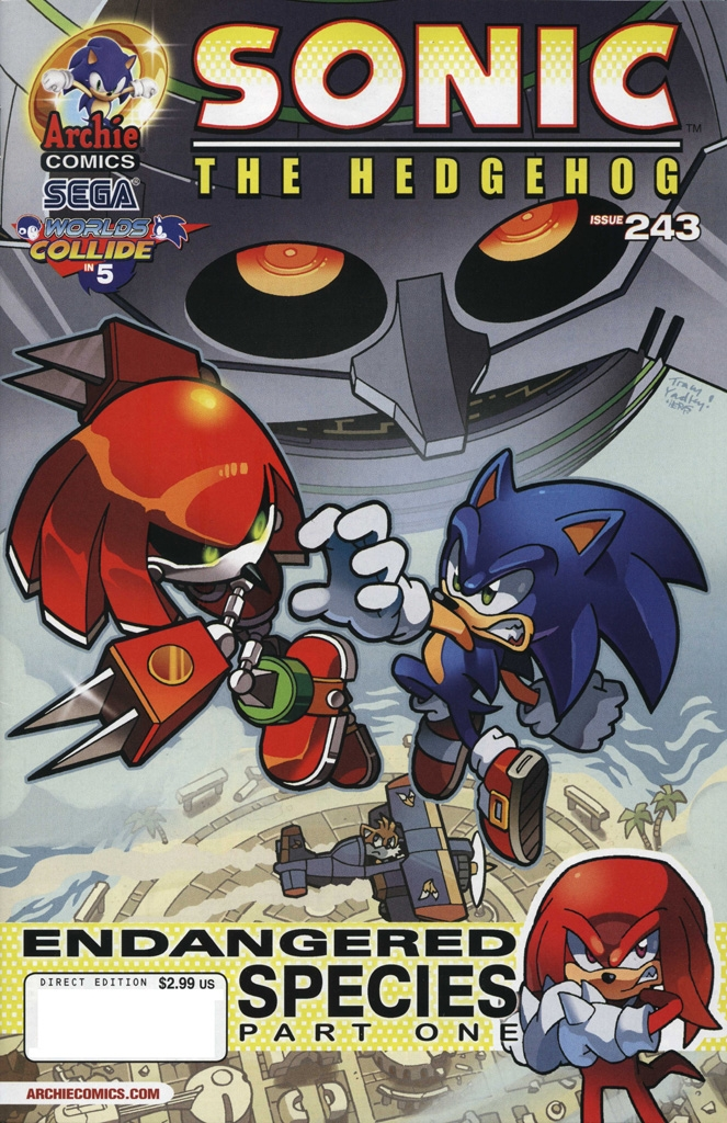Read online Sonic The Hedgehog comic -  Issue #243 - 1