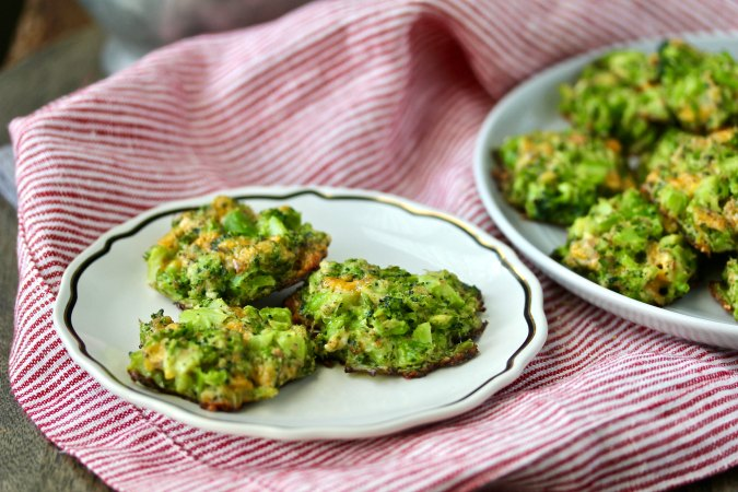 Broccoli-Cheese Nuggets to make with kids