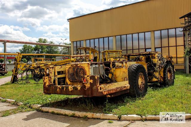 stare maszyny górnicze kopalnia KGHM