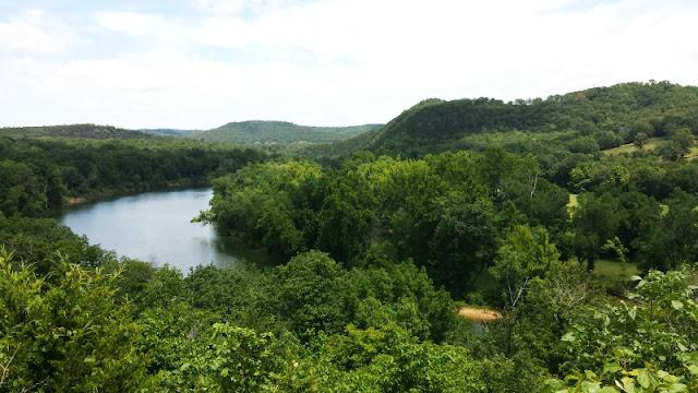 Scenic HWY 62 in Arkansas