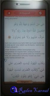 Membawa HP yang Berisi Aplikasi Al-Qur'an ke Toilet.