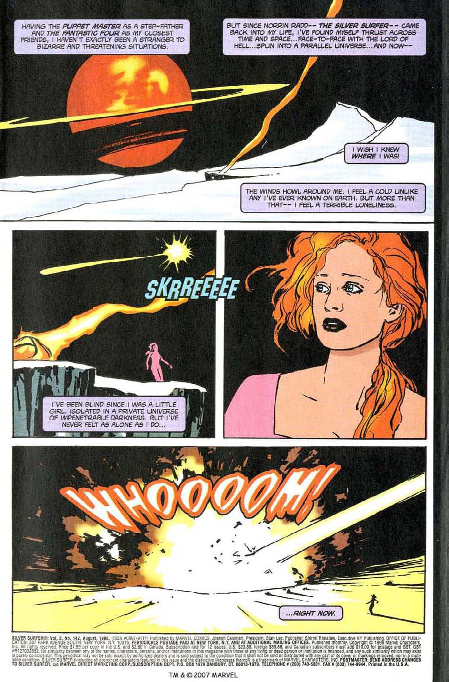 Read online Silver Surfer (1987) comic -  Issue #142 - 5