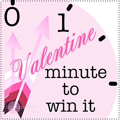 Minute to Win It games adapted for #Valentine parties! | see more at http://igottacreate.blogspot.com