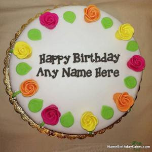 Birthday Cake With Name