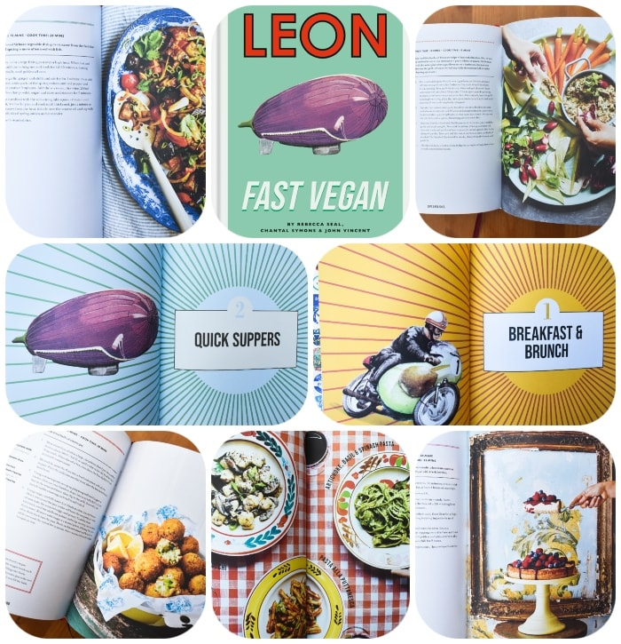 Photos from Leon Fast Vegan Cookbook