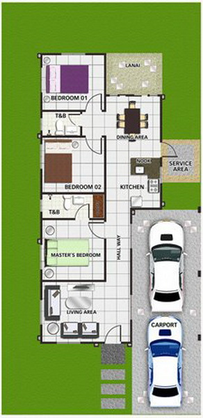 Small home blueprints and floor plans with interior for 150 square meters house floor plan