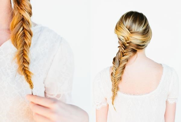 các kiểu tết tóc đẹp