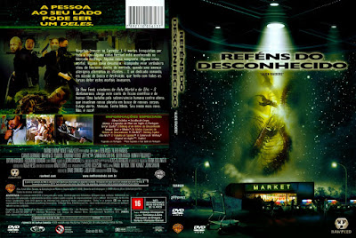 Filme Reféns Do Desconhecido (Alien Raiders) DVD Capa