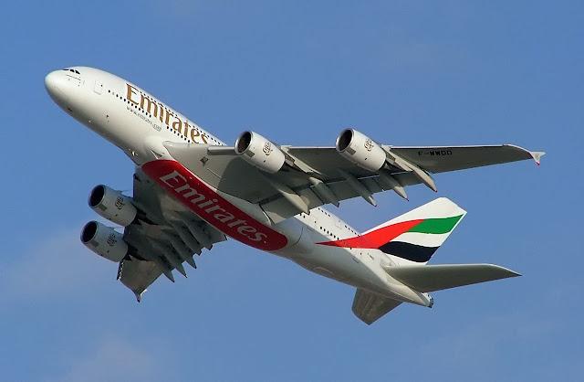 Emirates A380, (c) Wikipedia, G. Patkar