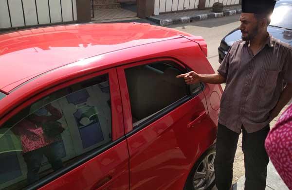 maling pecah kaca mobil marak terjadi