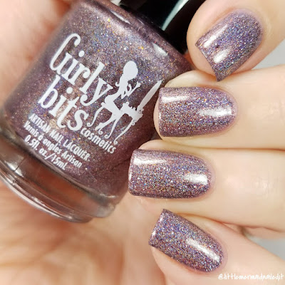 Girly Bits Cosmetics Slay, Ghoul, Slay October 2017 COTM Swatches and Review