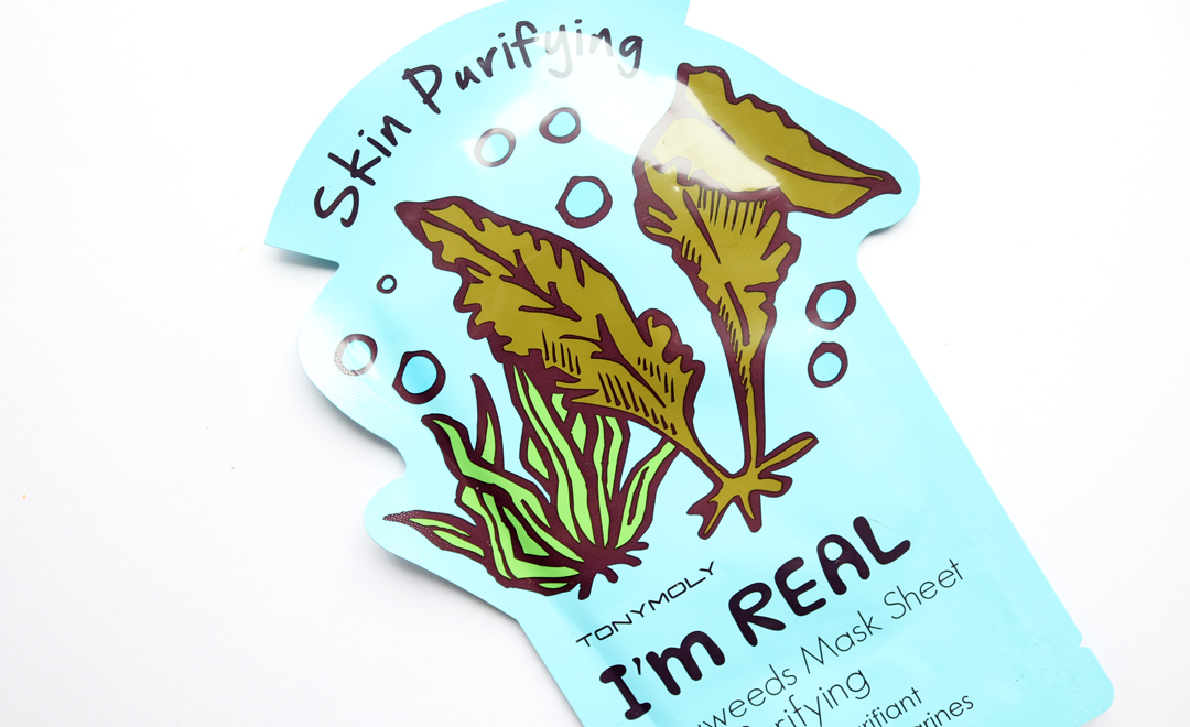 Tony Moly I'm Real Seaweed Skin Purifying Sheet Mask