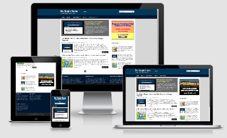 The Simple Theme - seo responsive blogger template