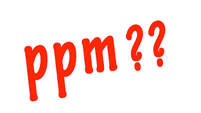 What does ppm mean??