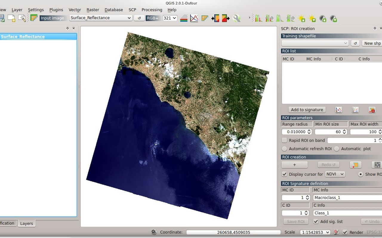 From GIS to Remote Sensing: Supervised Classification for