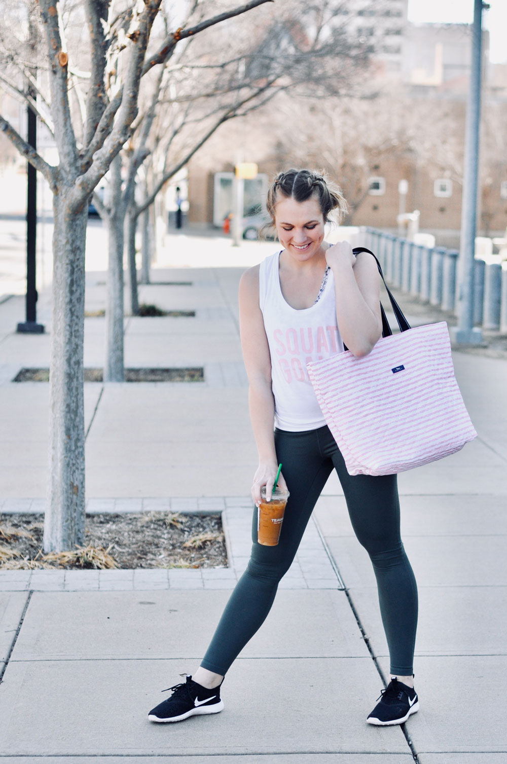 Athleisure Look with SCOUT Bag