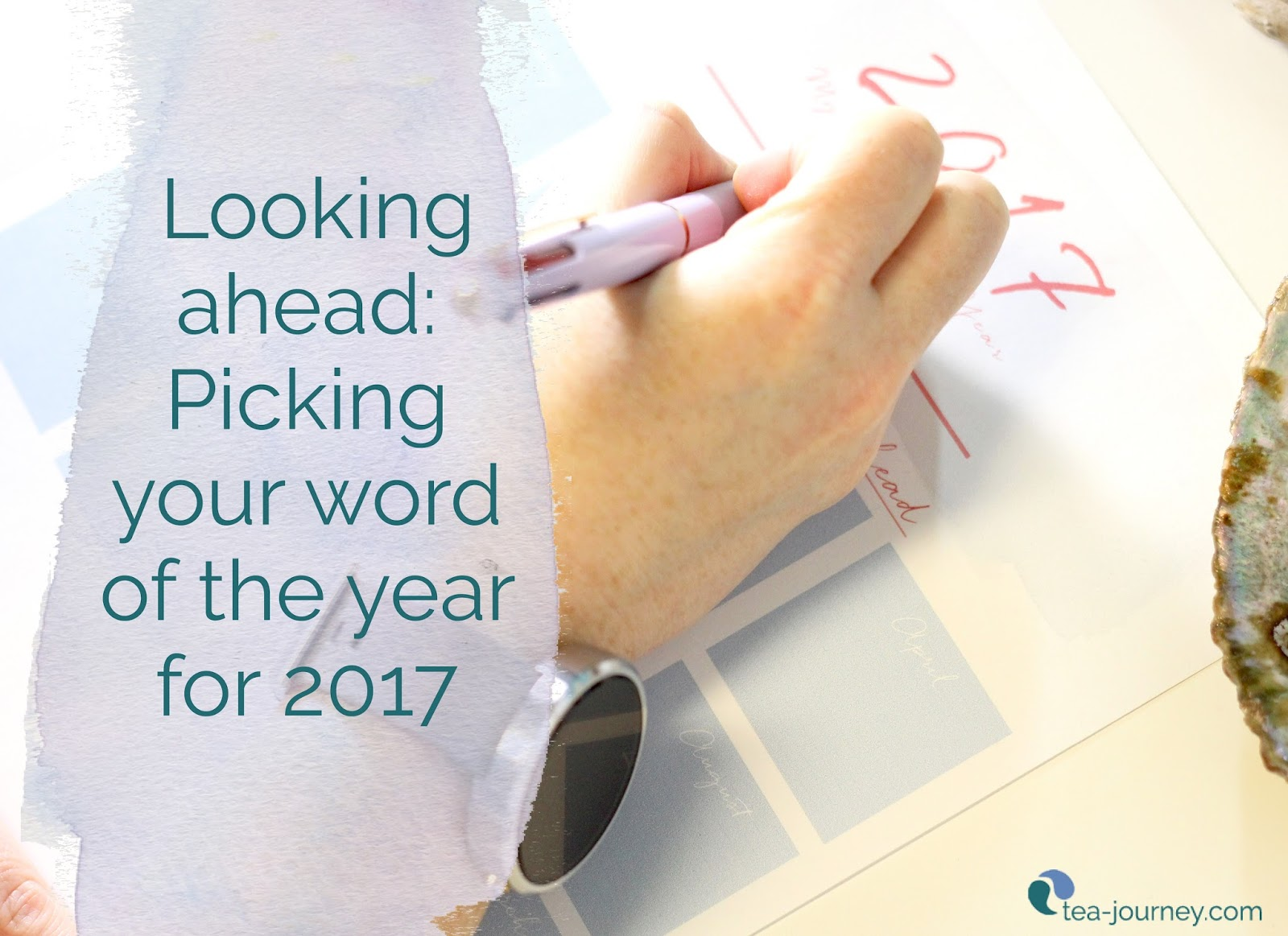 Make your year planning simple by beginning with your word of the year with these tips. And a printable planner to draft out the year ahead for a spirited intentional Tea Journey year..