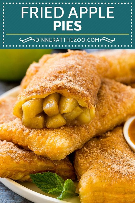 Fried Apple Pies Recipe | McDonald's Copycat Recipe | Apple Pie | Apple Hand Pies #pie #apples #applepie #dessert #snack