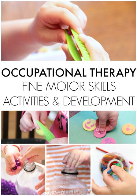 development of in hand manipulation and relationship with activities