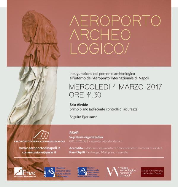 Capodichino, inaugurazione Aeroporto Archeologico