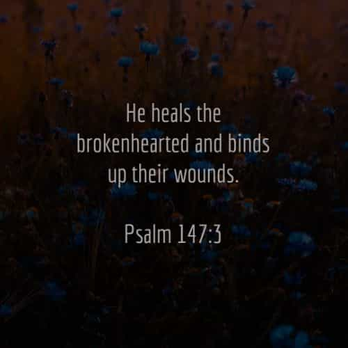 Comforting Bible verses about healing and strength