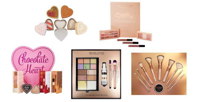Idealny prezent na walentynki dla niej- zestawy kosmetyków Makeup Revolution