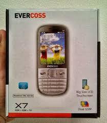 Spesifikasi Evercoss X7 Dan Harga Terbaru