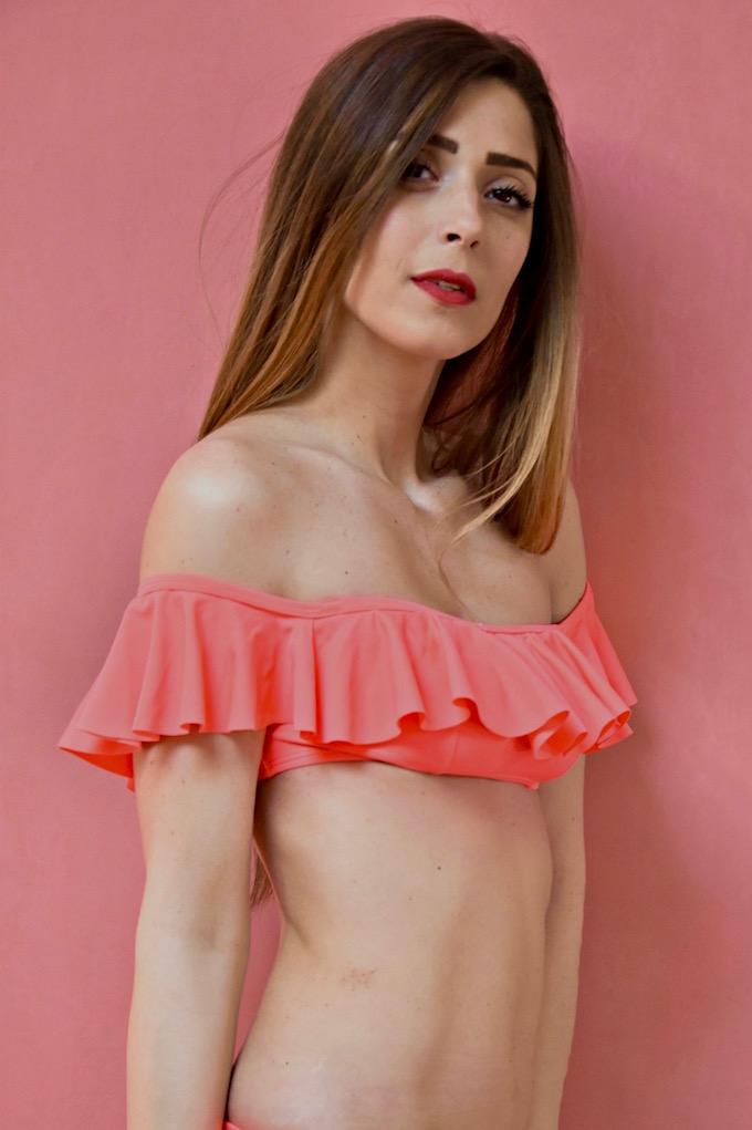 Off Shoulder bikini: il costume con le spalle scoperte