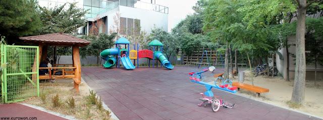 Parque infantil en Seúl
