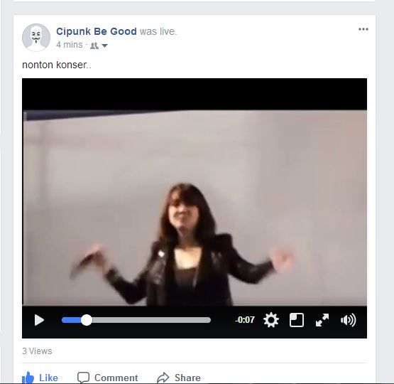 cara membuat siaran langsung palsu di youtube