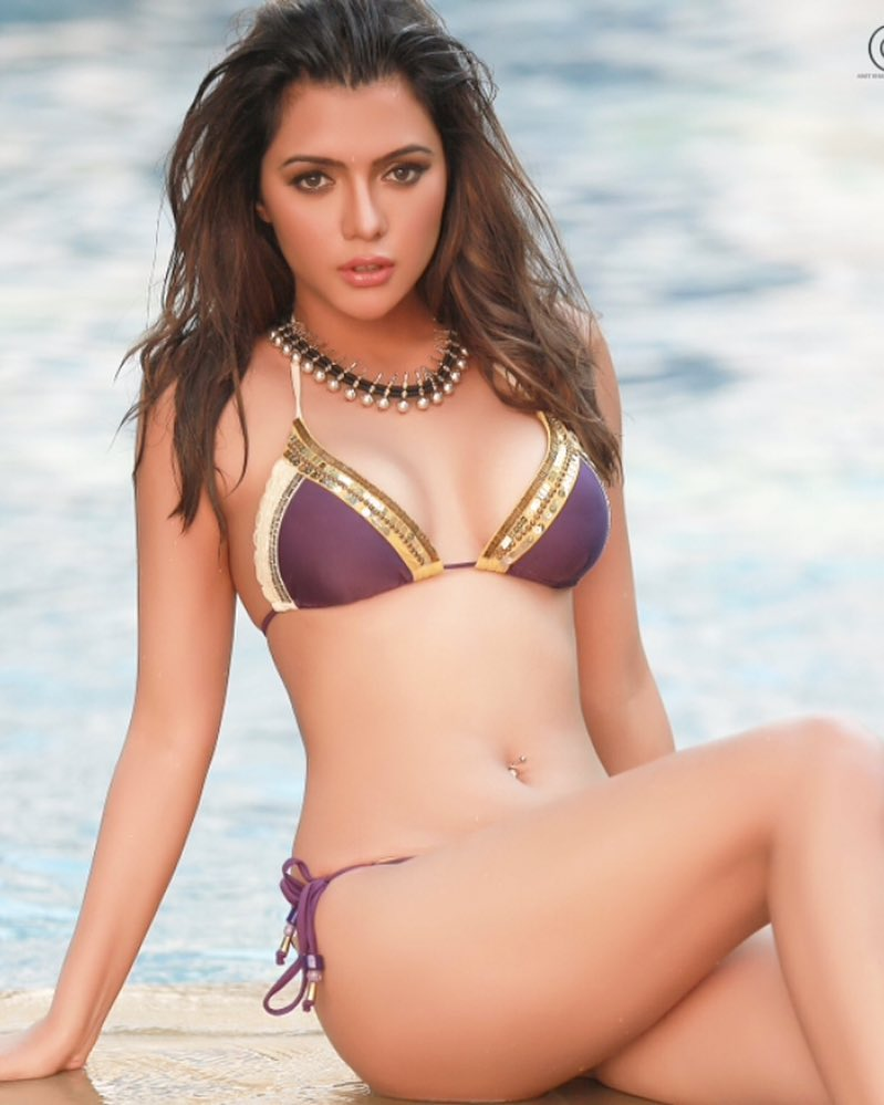 Ruhi Singh Super Hot  Spicy Bikini Pics  Indian Girls -9420