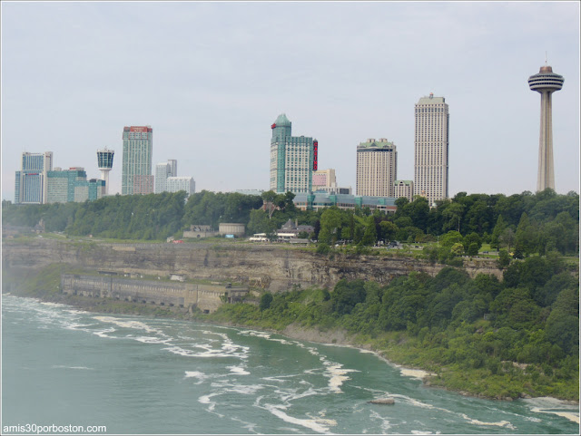 Cataratas del Niágara: Vistas de Canadá desde el Observation Tower