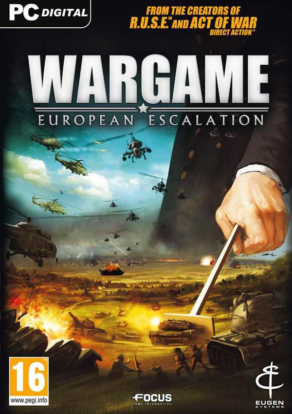 Wargame European Escalation Download Cover Free Game