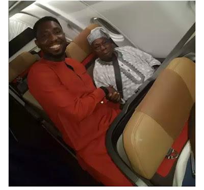 wp 1505289506311 - ENTERTAINMENT: Timi Dakolo Meets with Ex president, Olusegun Obasanjo