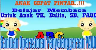 Draf Juknis BOP 2018 untuk PAUD ( Bantuan Operasional Penyelenggaraan PAUD )