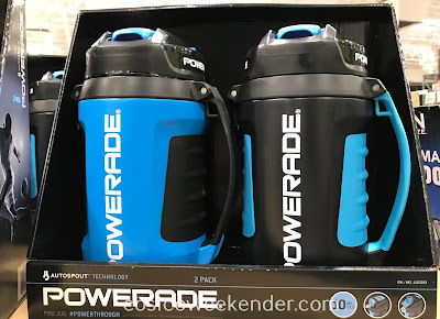 Stay hydrated during intense workouts with the Powerade 64oz Pro Jug