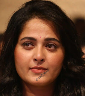 lore Actress Anushka Shetty Oily Face Closeup Pictures (3)