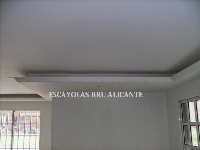 Escayolas bru alicante techos fijos - Luz indirecta escayola ...