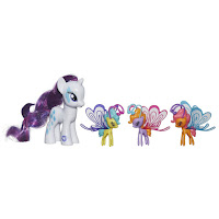MLP Cutie Mark Magic Friendship Flutters Rarity Brushable