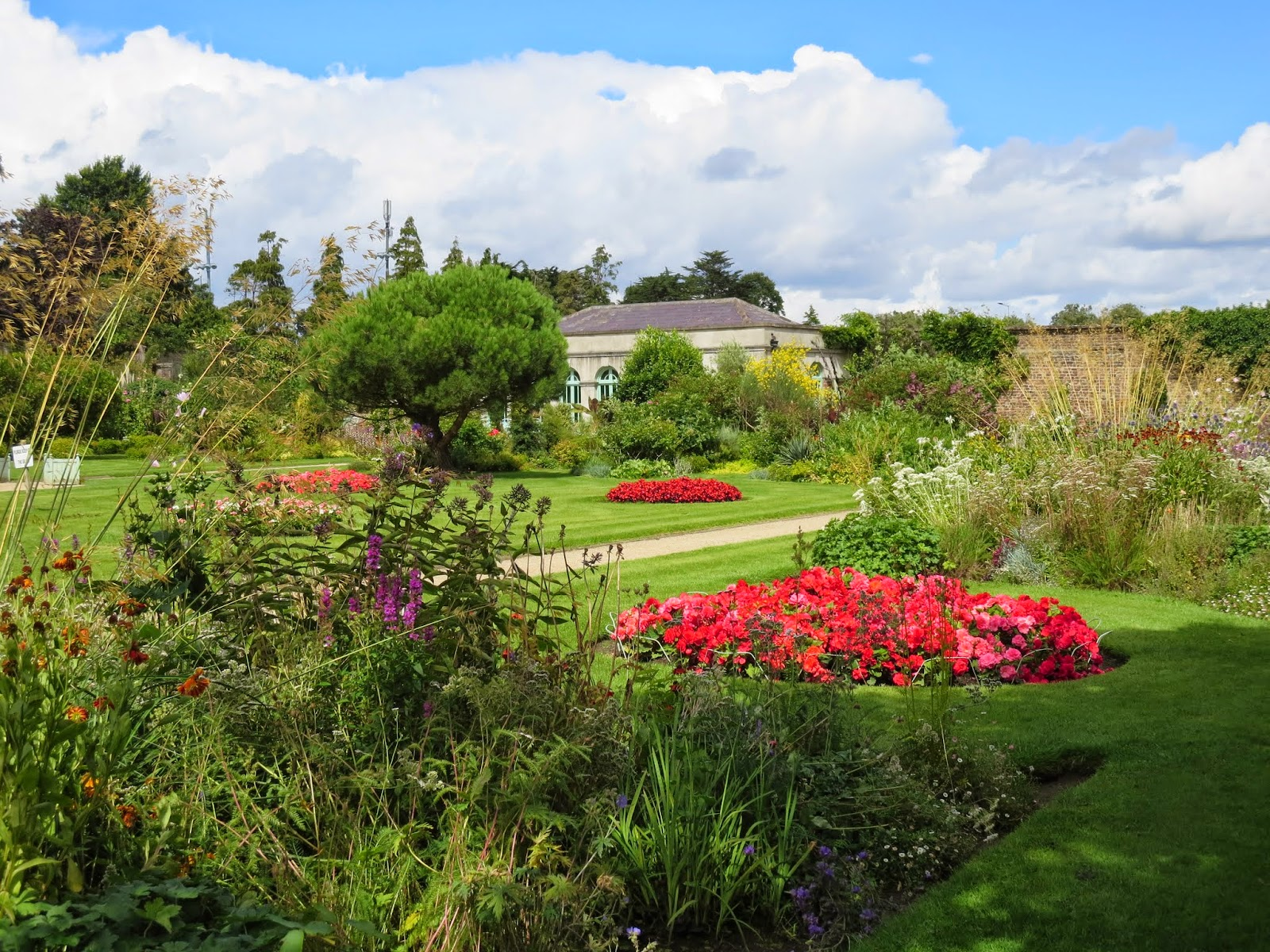 Regency Walled Garden at Marlay House