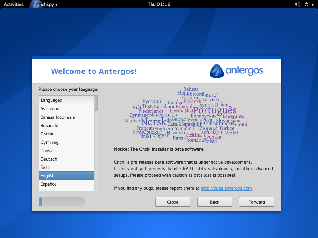 usr/notes: Making Arch Linux Simple With Antergos