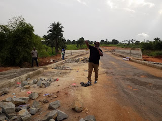 Construction of Nando - Nteje Road Ongoing