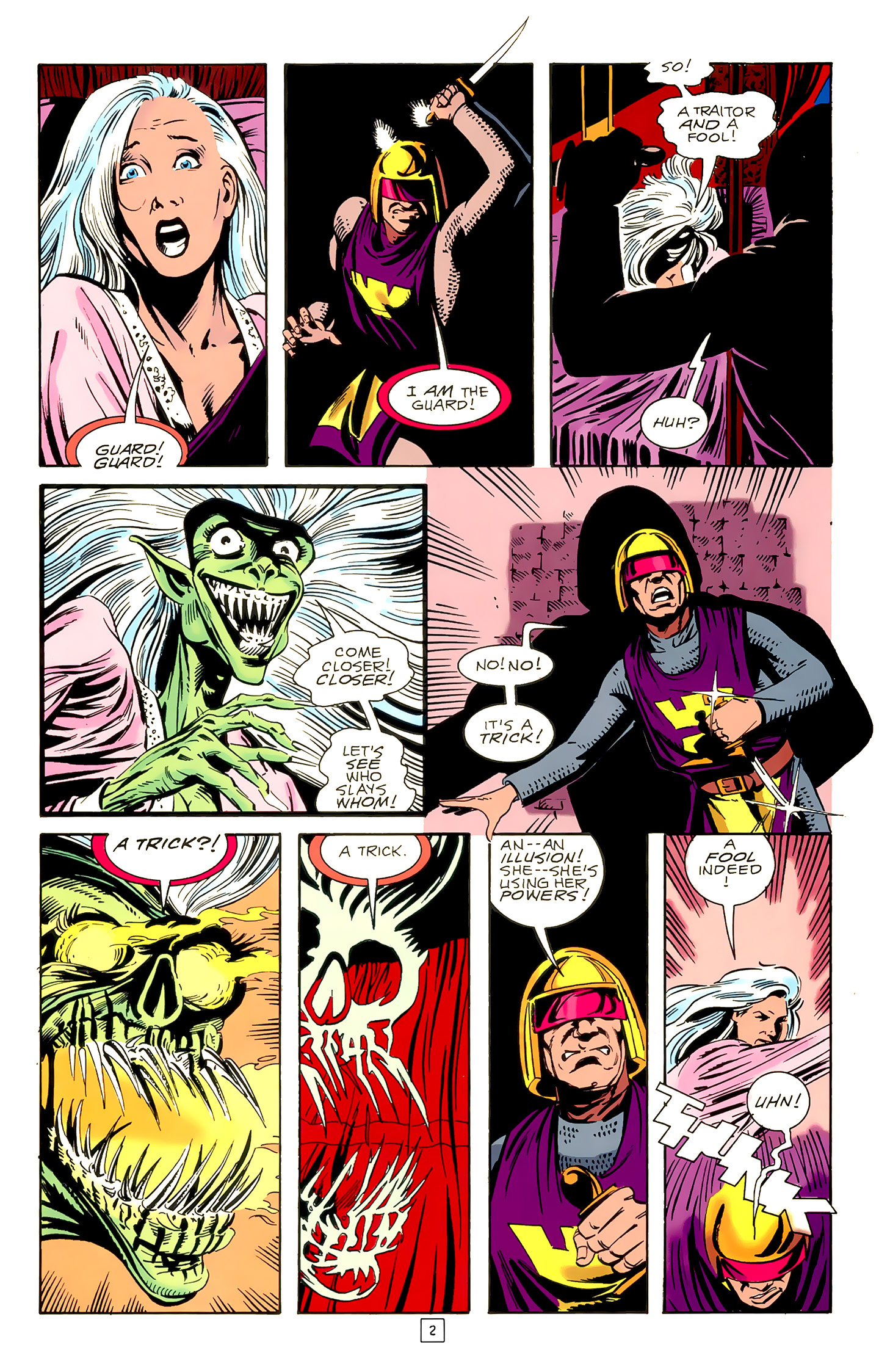 Legion of Super-Heroes (1989) 18 Page 2