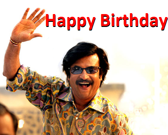 Rajinikanth Celebrates his 62nd Birthday! ~ Rajinikanth's ...