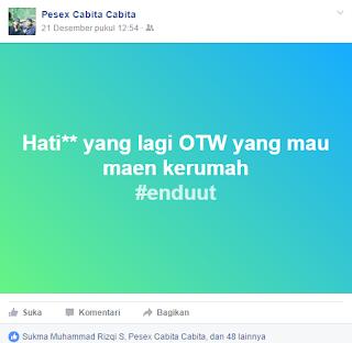 gambar Cara membuat Status Kotak warna di Facebook