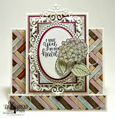 Stamp/Die Duos: In My Heart, Custom Dies: Center Step Card, Center Step Layers, Pierced Ovals, Ovals, Ornate Ovals, Pierced Rectangles, Filigree Frames, Paper Collection: Romantic Roses