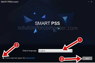 install smartpss software in pc