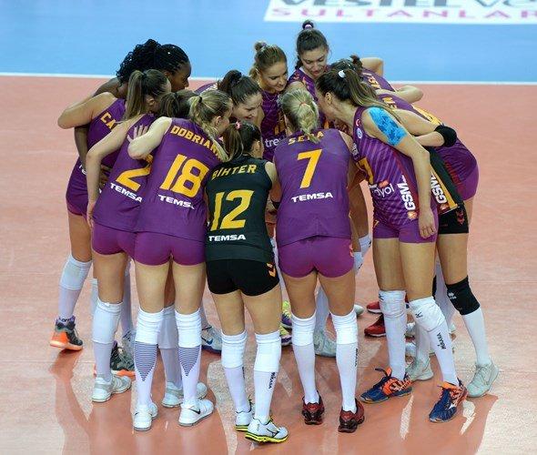 Kameroğlu Beylikdüzü Voleybol İhtisas: 2 - Galatasaray HDI Sigorta: 3 MAÇ SONUCU 94