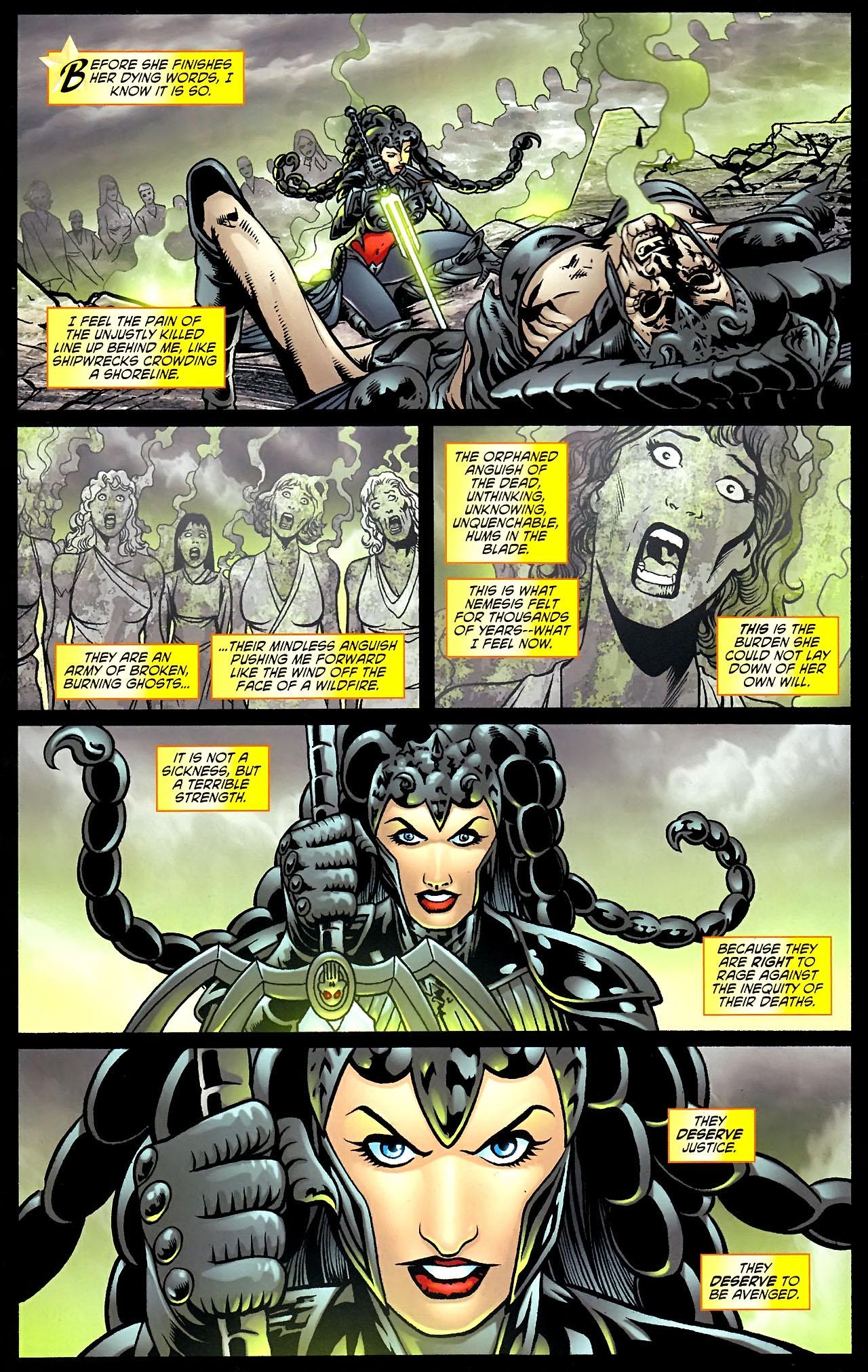 Read online Wonder Woman (2006) comic -  Issue #614 - 10